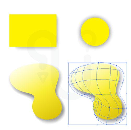 สร้างเงา เวกเตอร์ microstock mesh
