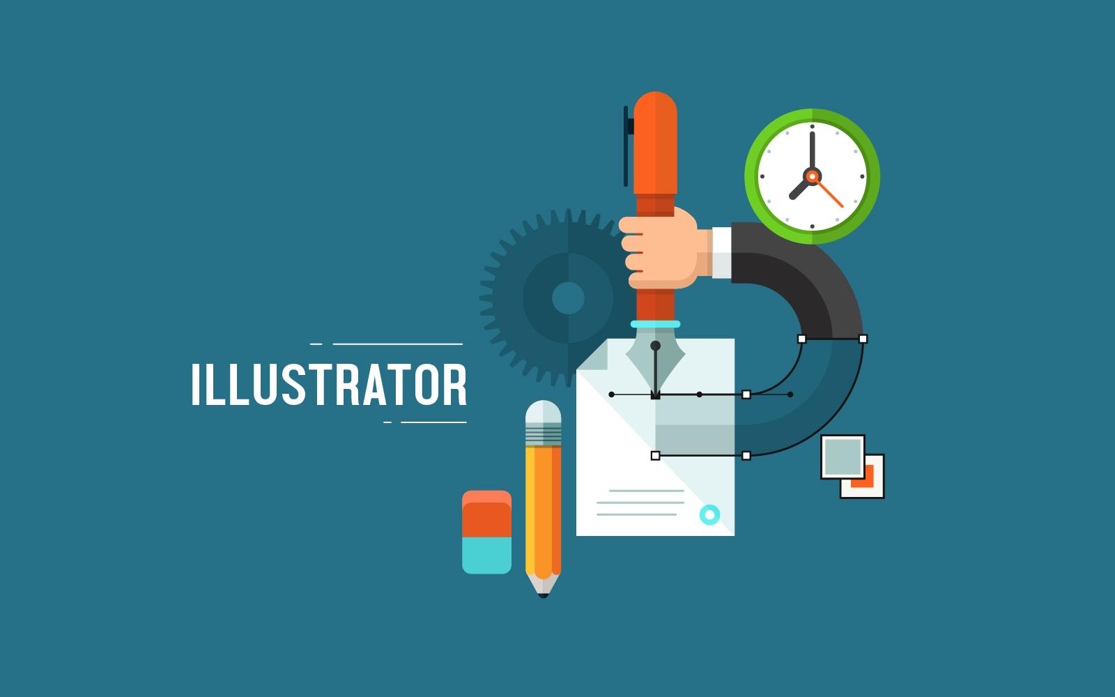 ฝีกillustrator