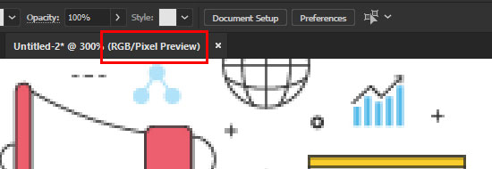 โหมด Pixel Preview